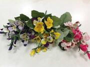 パンジーブッシュアートフラワー・イミテーション・人工観葉植物造花飾り【RCP】
