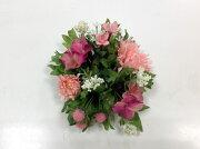 ガーベラミックスリングピンクアートフラワー・イミテーション・人工観葉植物造花飾りリース【RCP】
