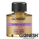 GONESH ガーネッシュ ガネッシュ リキッド瓶 エアフレッシュナー 芳香剤Love ラブ