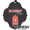 GONESH ガーネッシュ No.4 吊り下げ 芳香剤 ペーパー 部屋 トイレ 香り 車 【ガネッシュ GONESH】