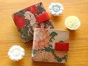 【 JAPAN ART LEATHER 】 ベロ付き二つ折り革財布