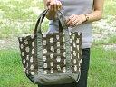 使いやすい形とかわいい動物の柄が◎なトートバッグ。【 フォレストトート 】