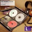 CD book Lサイズ  CDブック ART WORK STUDIO アートワークスタジオ SD-3027 CDケース DVDケース CD入れ DVD入れ 収納 本型 インテリア おしゃれ ディスプレイ収納 収納ボックス