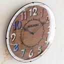【ポイント10倍】電波時計 【送料無料】FORLI フォルリ INTERFORM インターフォルム CL-8332 掛時計 掛け時計 電波時計 木目 壁掛け 壁掛け時計 時計 おしゃれ 人気 デザイン インテリア レトロ ナチュラル クロック