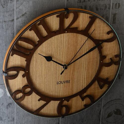 電波時計 掛け時計Musee wood ミュゼ・ウッド CL-...