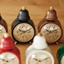 【ポイント10倍】置き時計 【INTERFORM インターフォルム】 Leger レジェ CL-5762  置時計 目覚まし時計 時計 クロック アラームクロック テーブルクロック ベル おしゃれ 人気 デザイン インテリア レトロ アンティーク