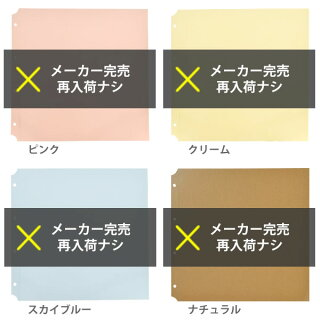 アルバム粘着台紙リフィル【粘着L】PDフォトアルバムDELFONICSデルフォニクス
