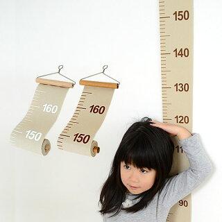 キッズメジャーLaLuzラルース身長計身長測定巻尺成長メジャー帆布子供部屋リビング内祝いギフトお祝いお返しお誕生日壁掛け人気おしゃれかわいいインテリア107570107571