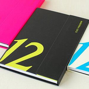 ☆☆【メール便で送料無料】 2012 スケジュール帳 マグネット12 B6変型サイズ /diary/2012/ ...