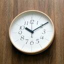 【ポイント10倍】掛け時計 【送料無料】【Lemnos レムノス】riki clock RC リキクロック Lサイズ WR08-26 電波時計 電波 渡辺力 壁掛け 壁掛け時計 掛時計 おしゃれ 人気 デザイン 北欧 渡辺力 クロック