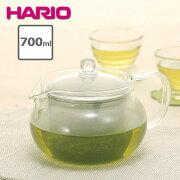 【1個】ハリオHARIO茶々急須・丸700mlCHJMN-70T急須丸約700ml4〜5人分耐熱ガラスガラス茶こし紅茶お茶煎茶レンジ食洗機