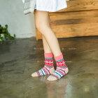 【送料無料】おしゃれレディースカラフル靴下4色8足セット/暖かいかわいいくつした厚手タイプ女性用/大学生高校生中学生小学生プレゼントにおすすめ厚いジャガードソックス8ペア(赤ベージュ紫ピンク系)