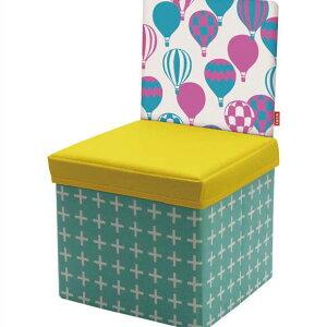 kicky ストレージチェア キキュウ キッズチェア 椅子 スツール ボックス 収納 折りたたみ おもちゃ箱 子供