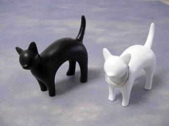 Fashion gadgets falling cat ring holder