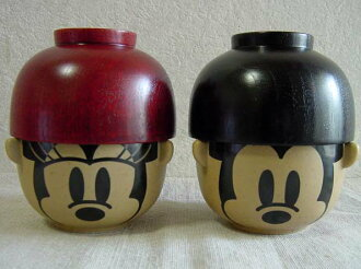 Disney rice bowl set-Bowl-bowls-bigtime-Bowl-Mickey-Minnie-Disney sipped and bowl set