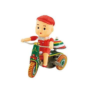 アンティークティントーイ ドール三輪車 ブリキ おもちゃ アンティークトイ