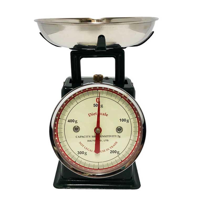 ダイエットスケール(ダークグリーン) ダルトン DULTON キッチンスケール クラシック アナログ 計量器 おしゃれ