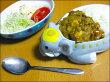 カレー皿|食器セット|お皿陶器|おもしろ雑貨|インド象のカレーセット【楽ギフ_包装】