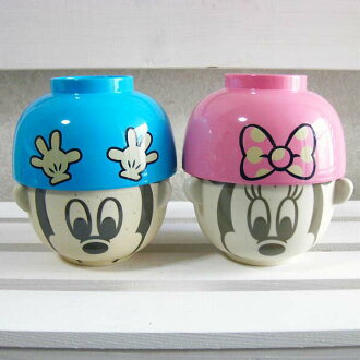 Disney rice bowl set-Mickey-Minnie-Bowl Cup-Bowl-Dinnerware Set-dipping and Teacup mini