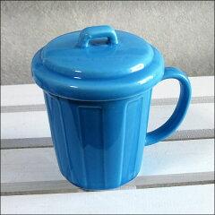 おもしろ雑貨のふた付きマグカップおもしろ雑貨のふた付きマグカップ|ポリバケツフタ付きマグ...