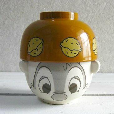 【2個以上で送料無料】ディズニー飯碗セット ご飯茶碗 茶碗|お茶わん お椀チップとデール|汁椀・茶碗セット ミニ_デール 【F】