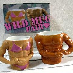 おもしろ雑貨のマグカップ|ユニークなプレゼントに|ペアマグセットおもしろ雑貨のマグカップ...