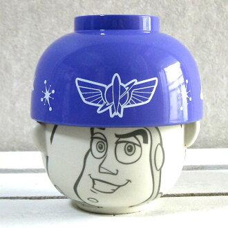 Disney rice bowl set | Wooden bowl set | Toy Story (TOYSTORY )|) Bowl bowl set mini-_ buzz light year