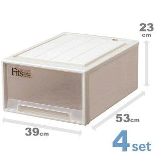収納ケース 収納ボックス 4個...