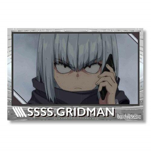 グリッドマン BIGスクエア缶バッチ SSSS.GRIDMAN / F アンチ画像