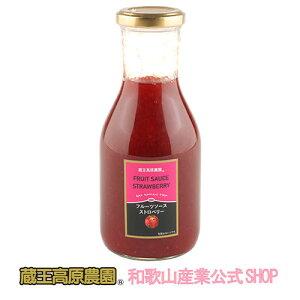 【1本】フルーツソースストロベリー300g【20%OFF】