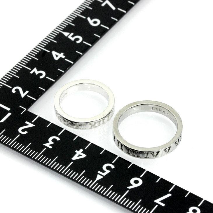LARA Christie (ララクリスティー)オルロージュ ペアリング [ PAIR Label ] シルバー ペアリング 指輪 ペア 結婚記念日