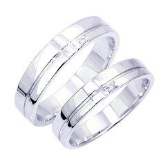 ペアリング特価!(セット、指輪2本価格) ペア!天然ダイヤモンド1ピースラインシルバー!送料無...