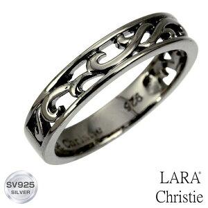 【宇垣美里 着用モデル】 指輪 メンズ LARA Christie (ララクリスティー) ランソー リング 指輪[ BLACK Label ] シルバー リング メンズ