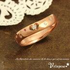 Velsepone (ベルセポーネ) La palpitation (ラ・パルピタシオン) リング 指輪 レディース ピンキーリング