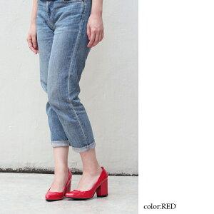 [送料無料]チャンキーヒールパンプスエナメルパンプスNo.5402[6色展開][2足4000セット][Libertydollリバティドール]チャンクヒール太ヒール走れる痛くないポインテッドトゥ安定人気SSLLL22.5cm-25cmレディースレディス婦人靴【RCP】02P11Sep16
