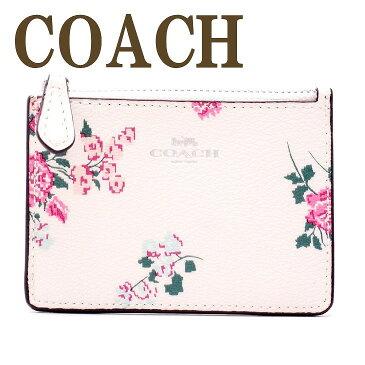 コーチ COACH 財布 キーケース キーリング コインケース 花柄 レディース 26218SVCAH ブランド 人気