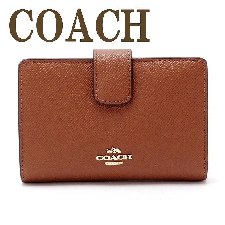 1760b0e9efc3 コーチ 財布 COACH 二つ折り財布 レディース レザー 54010IMSAD ブラ.