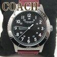コーチ 時計 メンズ COACH 腕時計 リヴィントン シリコンラバー ベルト ウォッチ ブランド W6188BUR ブランド 人気 誕生日 プレゼント ギフト