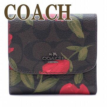 コーチ 財布 COACH 三つ折り 財布 レディース 花柄 25930QBLMA ブランド 人気