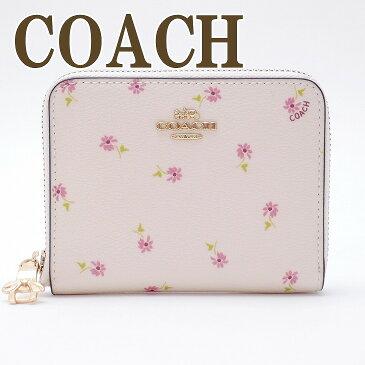 コーチ 財布 COACH 二つ折り 財布 レディース 花柄 ピンク 29385IMCAH ブランド 人気