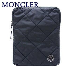 モンクレール バッグ MONCLER セカンドバッグ メンズ ダウン ポーチ クラッチバッグ ロゴ A008190054164-999 ブランド 人気