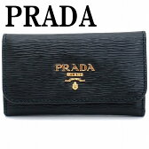 プラダ キーケース PRADA 6連 VITELLO MOVE NERO 黒 レディース 1PG222-2EZZ-F0002 ブランド