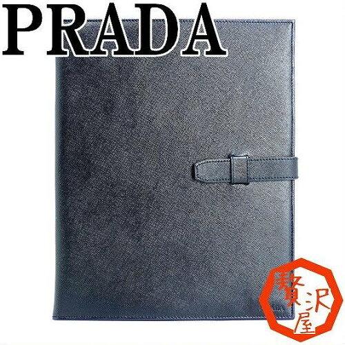 プラダ PRADA iPadケース ポーチ ブラック 2ARE64-2AHF-F0002 ブランド 人気