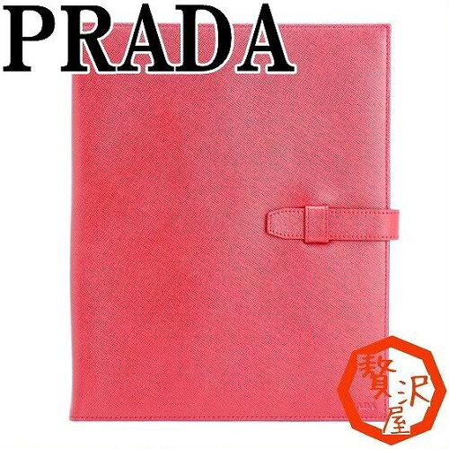 プラダ PRADA iPadケース ポーチ レッド 2ARE64-2AHF-F068Z ブランド 人気