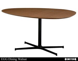 EGG Dining Table Walnut エッグ ダイニングテーブル ウォールナット /…