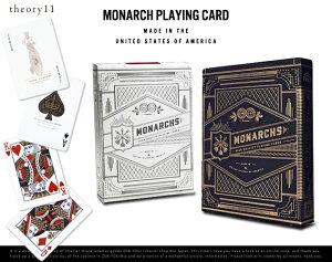 Monarch Playing Cards / モナーク プレイング カード theory11 デック トランプ カード マジシ...