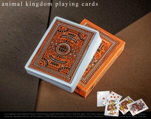 Animal kingdom playing cards / アニマル キングダム プレイング カード theory11 デック トラ...