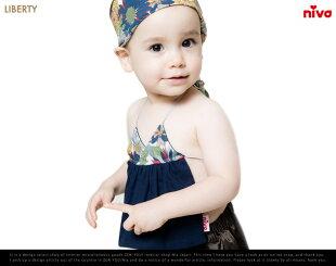 LibertyBib/リバティniva/ニヴァスタイよだれかけ出産祝い赤ちゃんベイビーリバティプリント【あす楽対応_東海】