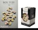 形も色も文句なしのカラフルでかわいいパスタ。【Padonni / パドンニ】BOX TYPE(ストライプ小...