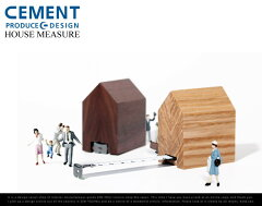 HOUSE MEASURE / ハウスメジャー CEMENT PRODUCE DESIGN / セメントプロデュースデザイン巻尺 ...